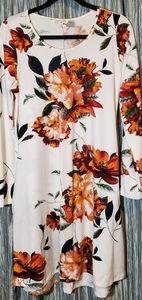 Dresses & Skirts - SWEET LOVELY BY JEN Long Sleeved Floral Dress